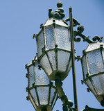 malta with historic street lamp valletta