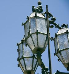 malta with historic street lamp valletta