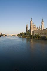 Catedral del Pilar.  Zaragoza, España.