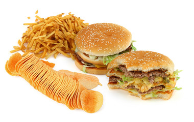 unhealthy food composition