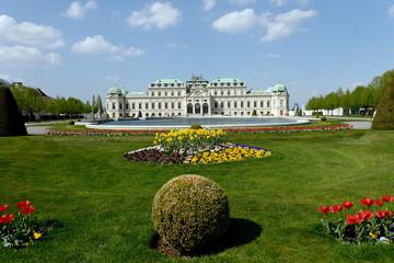 BELVEDERE CASTLE 1 IN VIENNA (AUSTRIA)