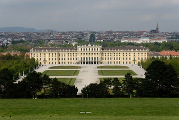 SCHONBRUNN CASTEL 1 IN VIENNA (AUSTRIA)