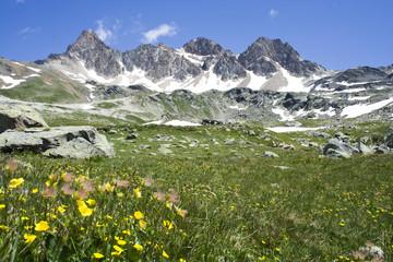 Le Mont Thabor depuis Valmeinier