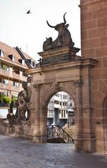 Bayern - Nürnberg - Stier - Fleischhaus