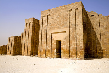 The Perimeter Wall of The Step Pyramid
