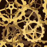 Cogs tile poster