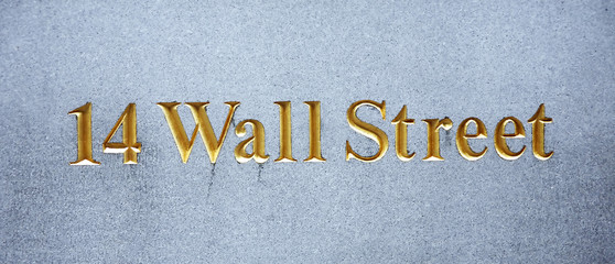 USA, New York, Wallstreet