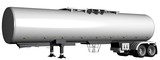 Gasoline tank truck poster