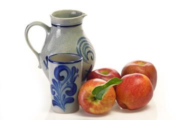 Frischer Apfelwein