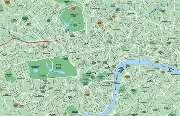 Downtown London Map