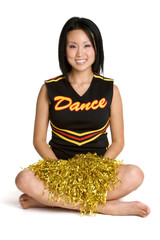 Smiling Cheerleader
