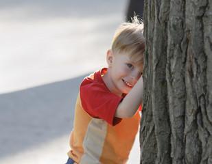 cheerful kid