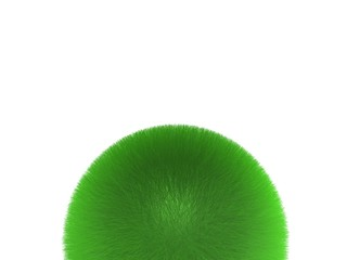 sphère herbe