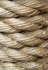 Wound up rope macro backround