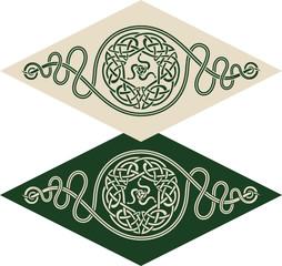 Celtic style pattern