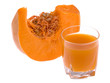 Pumpkin and juice