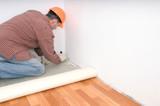 flooring installation poster