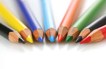 Color Pencil spread out