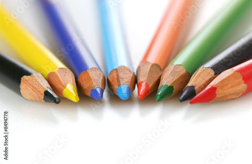 Color Pencil spread out