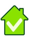 Avis favorable immobilier (détouré) poster