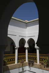 intérieur d'un riad à Rabat, Maroc