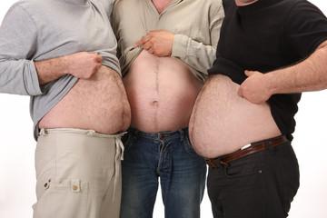 Man's stomachs