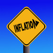 Inflation warning sign