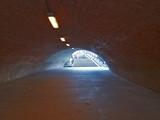 licht am ende des tunnels, strassentunnel poster