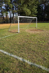 Soccer Goal and Field