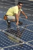 Solar Panel Install 2 poster