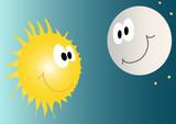sole e luna poster