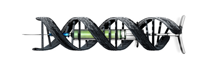 seringue ADN entrlacé