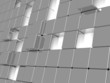 gray metallic cubes