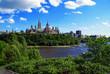 Parliament Hill and Ottawa Skyline