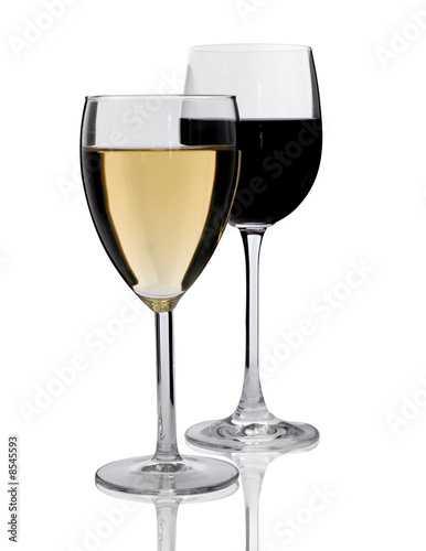 two glasses of wine. Two glasses of wine