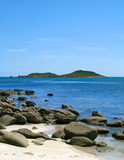 Looking at the Eastern Islands from St. Martins, Isles of Scilly
