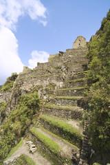 Huayna Picchu at Machu Picchu in Peru.
