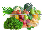 Fototapety Shopping for produce
