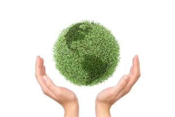 Saving green planet