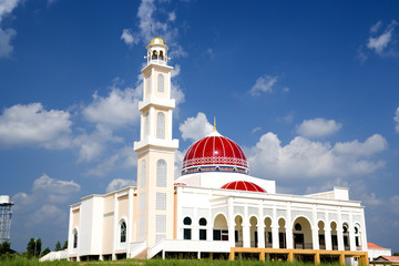 Red Domed Mosque