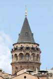 Galata Tower Istanbul Turkey poster