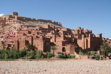Legendary town Ait Benhaddou