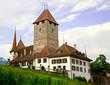 Spiez Castle, Bern Canton, Switzerland