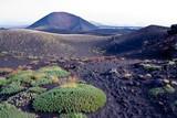 trekking on Etna volcano in Sicily poster