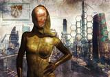 Cyber queen poster