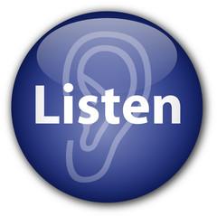 """""""Listen"""" button (blue)"""