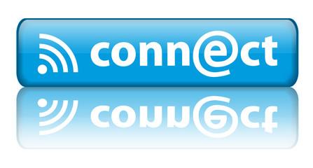 """Bouton """"Connect"""" (avec réflection)"""