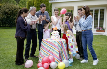 Children's outdoor party