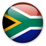 South African flag button poster