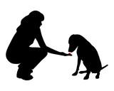 Hundetraining (Obedience), Befehl Warten! poster